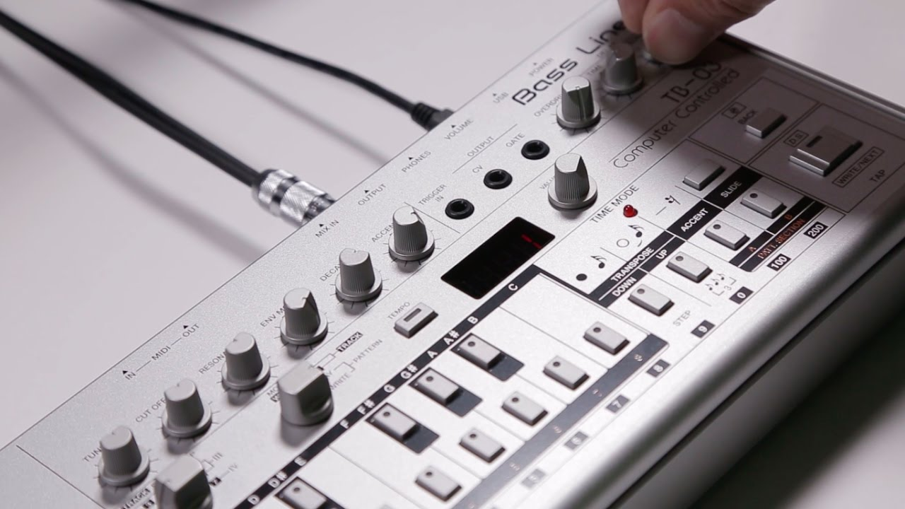 Help! We sold the TB303 – This is the new TB03